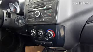 LADA Granta Luxe SE с  панелью от Калины