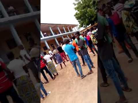 Proclamation bac 2018 à Bouaké centre yamossou