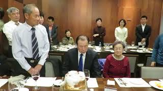김학립님팔순 케잌커팅과 인사말1