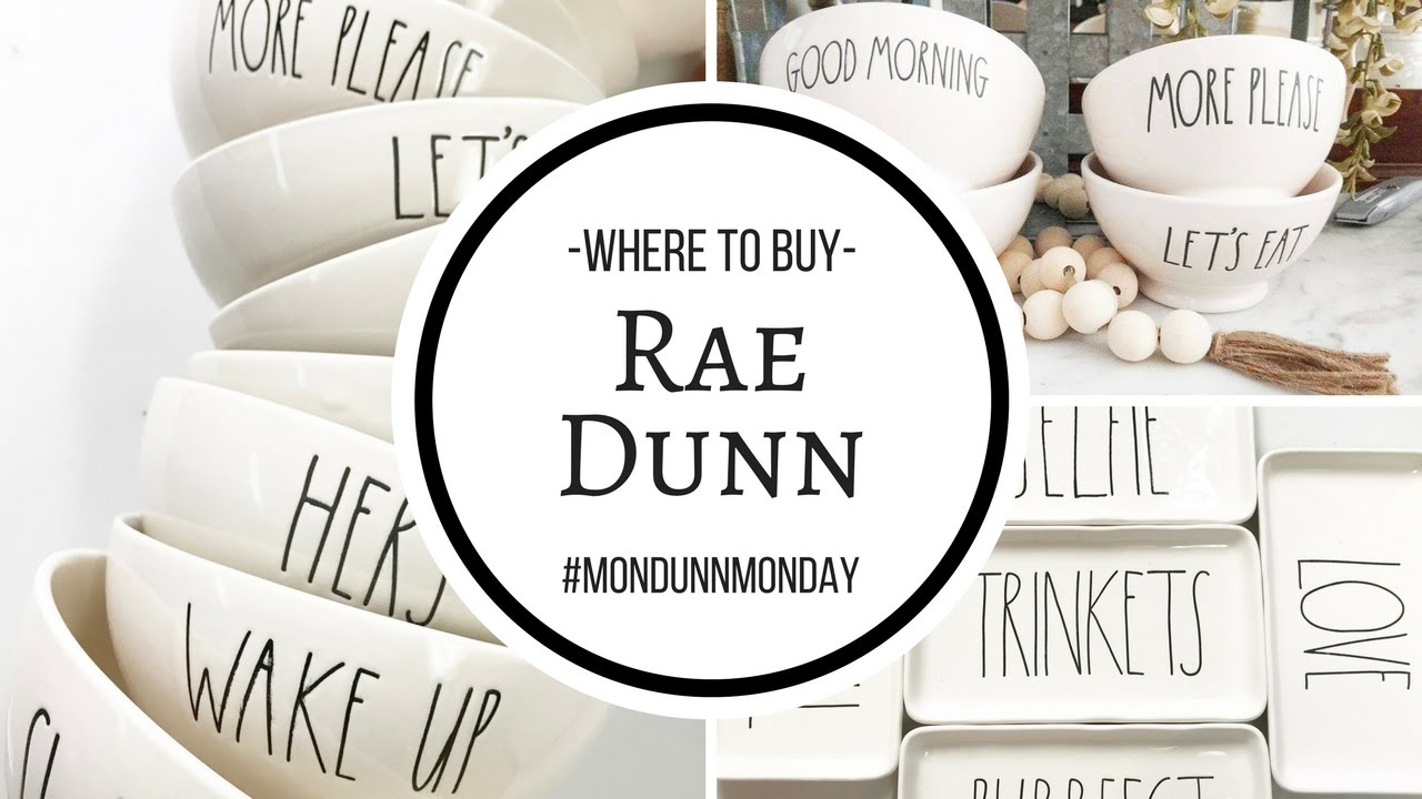 Where To Buy Rae Dunn Mondunnmonday Youtube