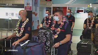 Combattre la flambée du covid : 44 pompiers en mission au fenua