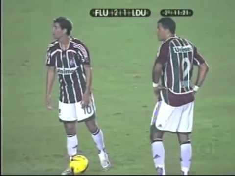 Thiago Neves x LDU (Final - Libertadores da América 2008)