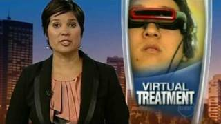 virtual reality therapy channel 10 news report mpg