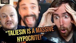 Asmongold Reacts To HeelvsBabyface Opinion On The Taliesin Drama