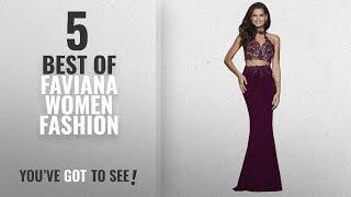 Faviana Women Fashion [2018 Best Sellers]: Faviana Style 7967 Bordeaux, Size 4