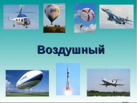 Воздушный вид транспорта доклад 2147