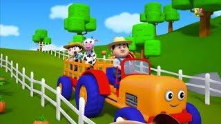 nông dân trong dell vần điệu cho trẻ em bài hát nông trại cho trẻ em Farmer In The Dell Farmer Rhyme