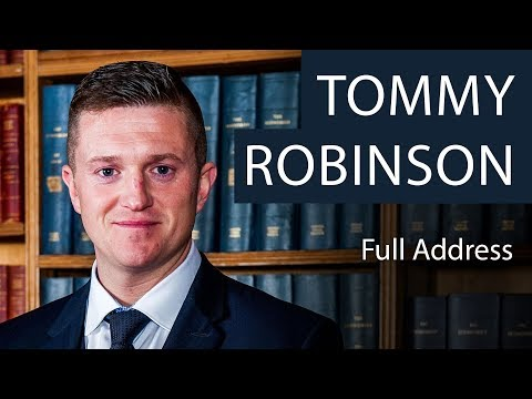 Tommy Robinson - Main Speech