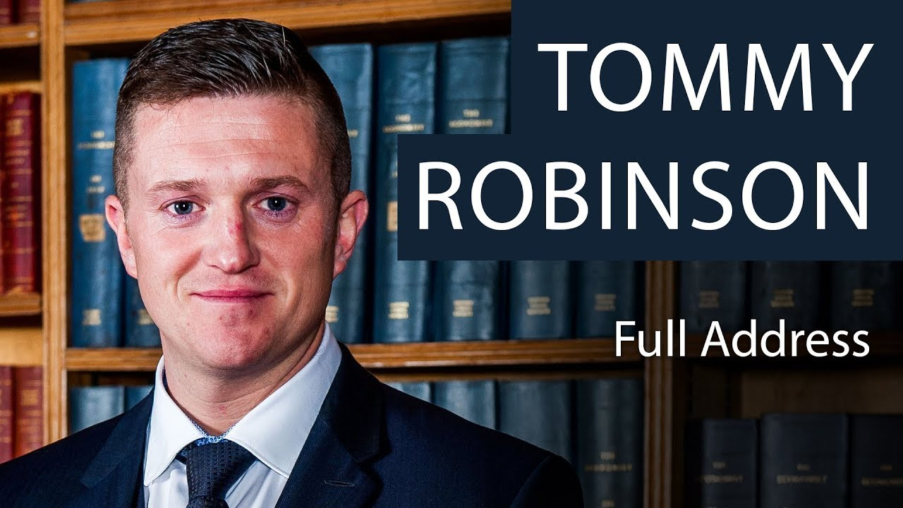 Tommy Robinson Explains The Making Of An Alter-Ego Even His Wife Can