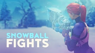 SNOWBALL FIGHTS (Fortnite Battle Royale)