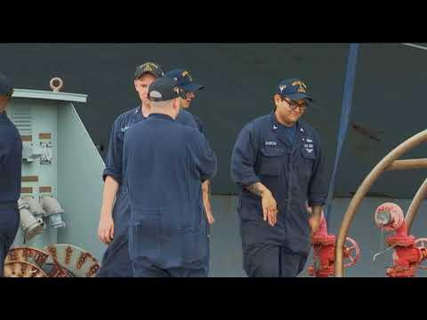 USS Carl Vinson docks on Guam