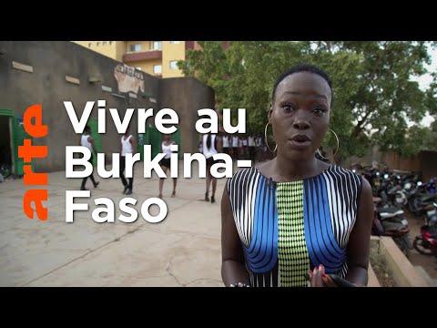 Au Burkina-Faso avec Fatou Traoré   60 ans de l'indépendance   ARTE Reportage