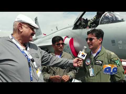Geo News Special – JF-17 Thunder Jets Represent Pakistan in Paris Air Show
