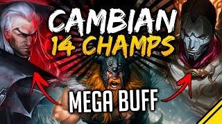 CAMBIAN 14 CAMPEONES con MUCHOS BUFF - Parche 8.5 | Noticias Jota LoL