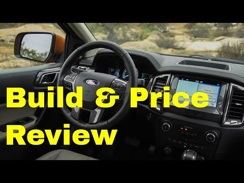 2019 Ford Ranger XLT FX4 4X4 - Build & Price Review: Features, Colors, Technology, Configurations