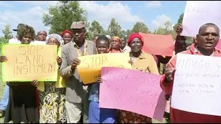 Former Kiambaa IDPs demonstrate against inciteful remarks by politicians