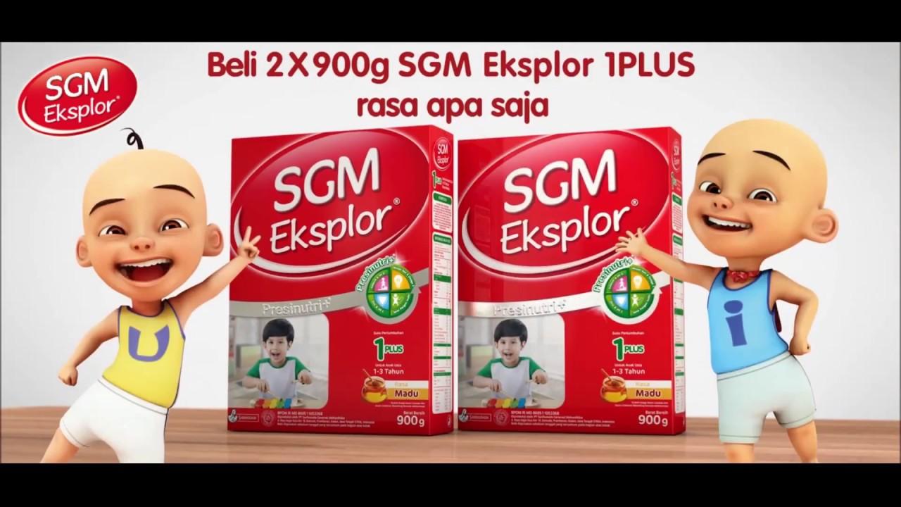 Promo SGM Eksplor 1 Plus Berhadiah Tas Ransel Upin & Ipin