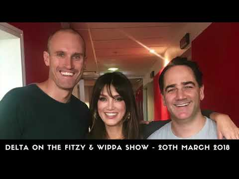 Delta Goodrem on the Fitzy & Wippa Show - 20th March 2018