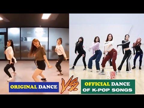 KPOP ORIGINAL DANCE VS OFFICIAL DANCE OF K-POP SONGS COMPILATION   Mp3