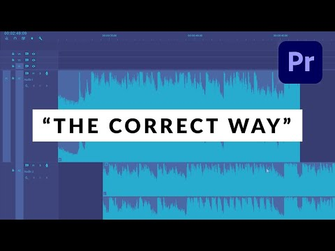 How To Fade Out Music The RIGHT Way in Premiere Pro
