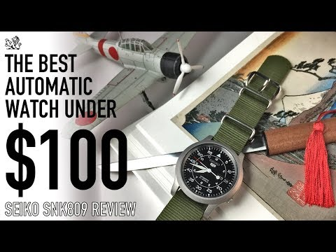 The Best Automatic Watch Under $100 & The Perfect Choice For Your First Watch  - Seiko SNK809 Review