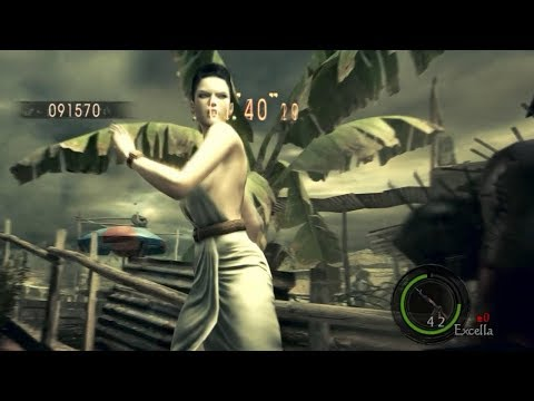 Resident Evil 5 Mercenaries (Excella Public Assembly) 150 Enemies (Экселла Площадь Собраний) PC
