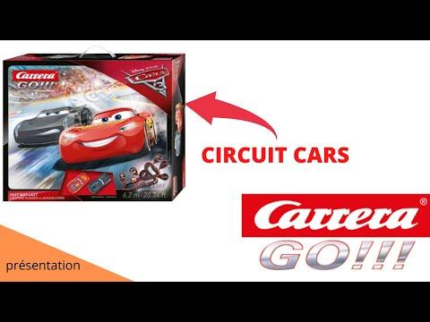 Présentation circuit carrera go cars 3
