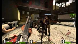 Left 4 Dead 2 Custom Map Review - No Space 4 Zombies 2 of 3