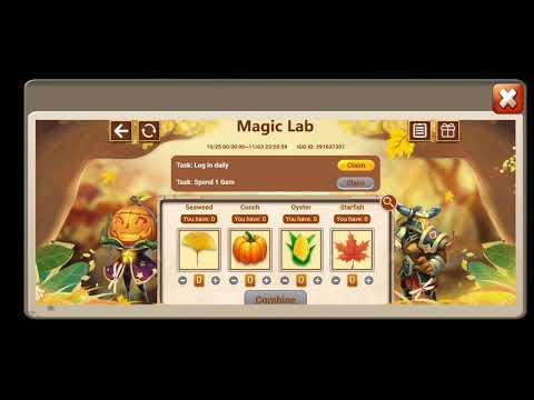 Magic Lab Codes Castle Clash