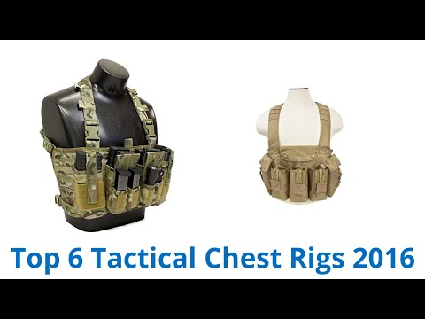 6 Best Tactical Chest Rigs 2016