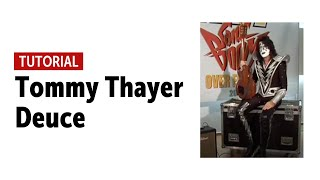 Tommy Thayer - Deuce Guitar Tutorial