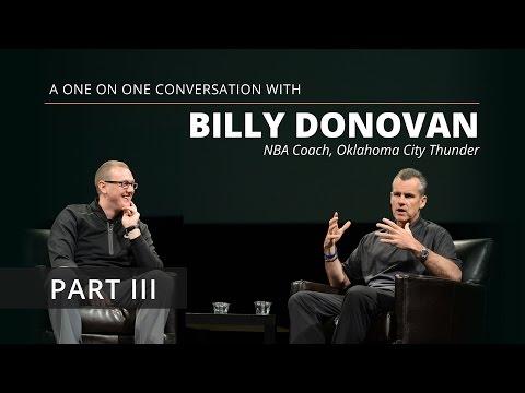 Billy Donovan: A Coach