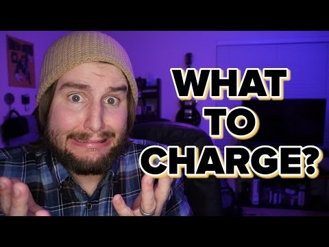 What should you charge for video production?