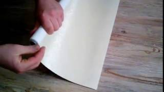 Делаем рулонную штору мини своими руками