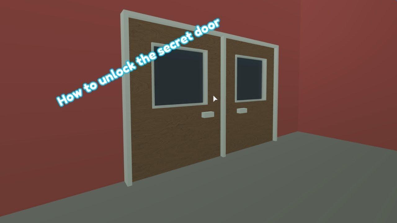 How To Unlock The Secret Door In Roblox High School 2 Youtube - roblox roblox high school 2 wishing well