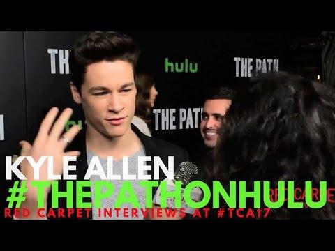 Kyle Allen interviewed at Hulu's 'The Path' S2 Premiere in Los Angeles #ThePathonHulu
