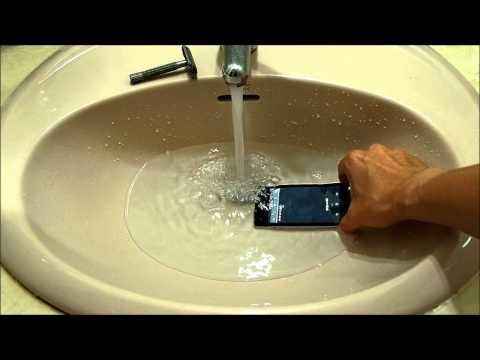 SONY Xperia V LT25i Waterproof Test