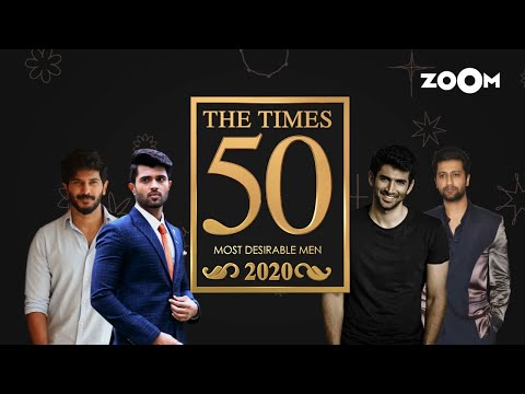 The Times Most Desirable Men 2020 | Sidharth Shukla, Sushant Singh Rajput or Shahid? | Top 50