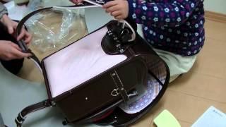 セイバン 天使のはねランドセル 2015年 ラブピ ブラウン 日本製 Randose...