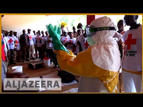 🇨🇩 Ebola outbreak two confirmed cases in DRC