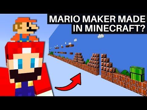 Can You Remake Super Mario Bros Entirely In Minecraft?