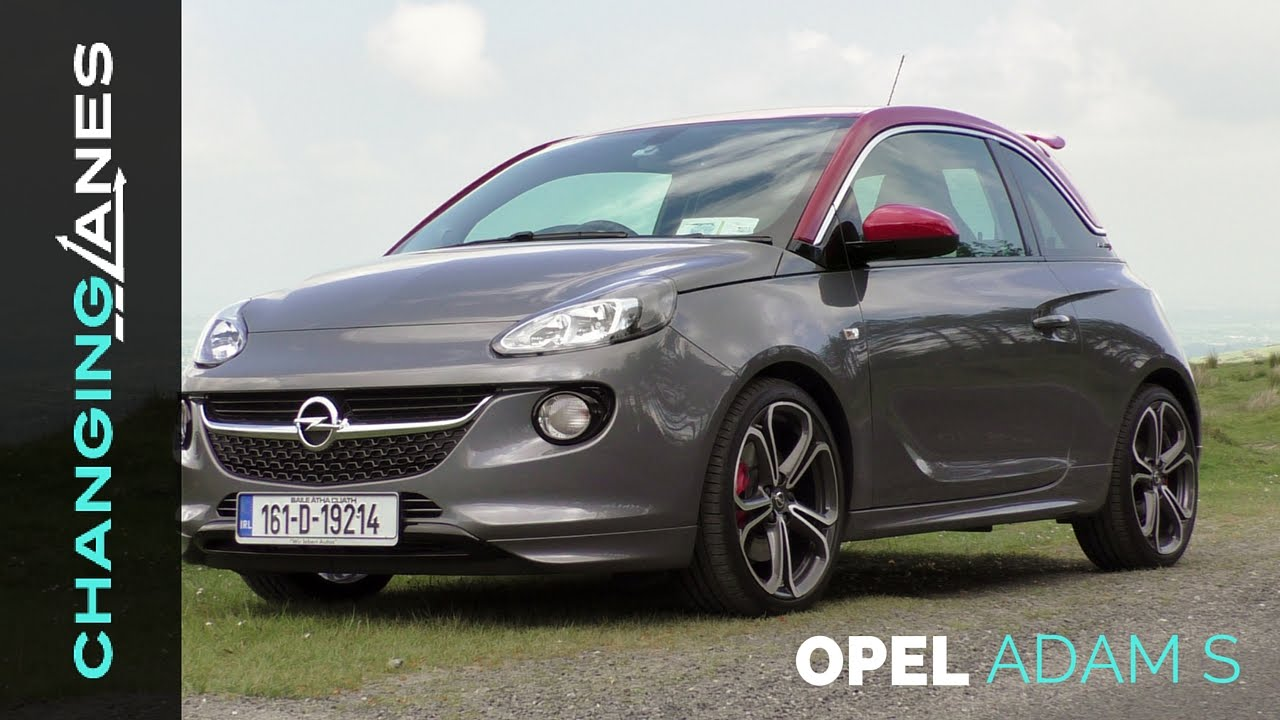 opel vauxhall adam s 150hp review. Black Bedroom Furniture Sets. Home Design Ideas