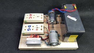 How to make 220v 50W Dynamo Generator Using 775 Motor