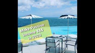 Starting Multiple Passive Income Streams in 2020