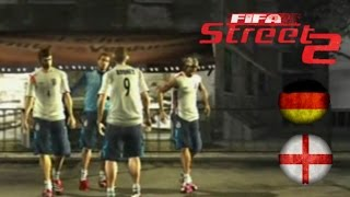 FIFA Street 2 Gameplay: England vs Germany