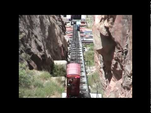 Royal Gorge-Colorado, incline railway.