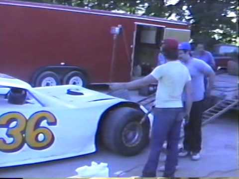 1991 Team 36 in the pits and Hot Laps at Beckley Motor Speedway - Motorsports Park