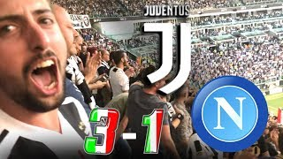 JUVENTUS 3-1 NAPOLI | LIVE REACTION dall'ALLIANZ STADIUM ai GOL di MANDZUKIC HD!! [GODURIA TOTALE]