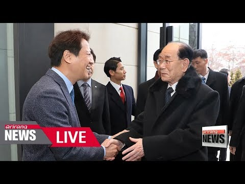 [LIVE/ARIRANG NEWS] High profile North Korean delegation returns home