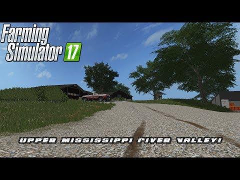 FS17 Mod Spotlight - EP. 25: Upper Mississippi River Valley!